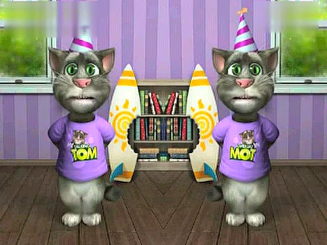 《小苹果》汤姆猫版 你听过吗? - 搞笑 - 3023视频图片