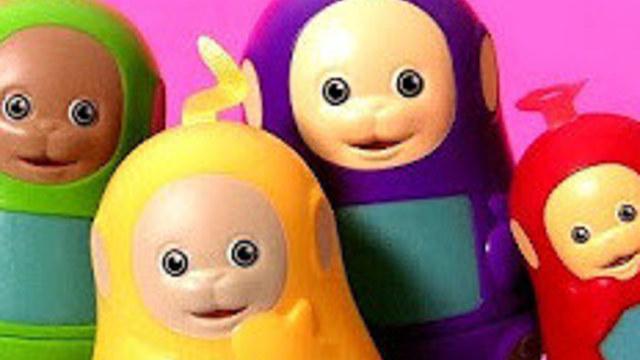 小红蛋蛋玩具624:天线宝宝套娃小猪佩奇橡皮泥和纸模玩具