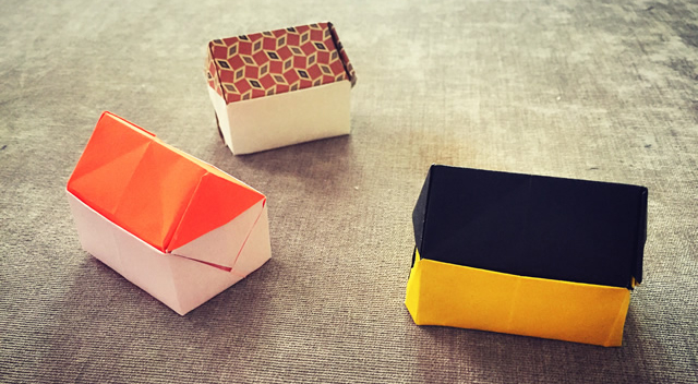 第209期 手工折纸:小房子