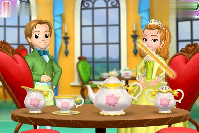 公主版小骑士苏菲亚动画片小公主苏菲亚之仙子国语芭比国语白雪公主恶灵蝴蝶公主电影