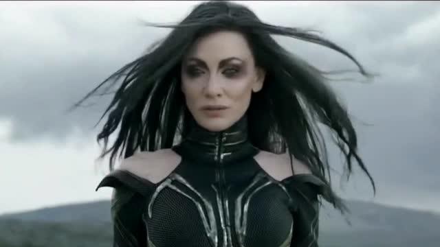 雷神姐姐_雷神3 雷神的锤子豆腐似的被海拉捏碎,事实证明你姐姐