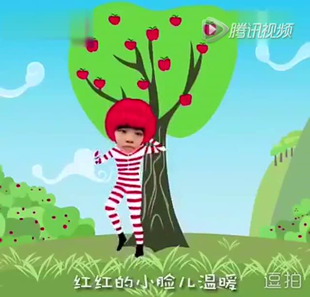 搞笑大头舞《小苹果》图片
