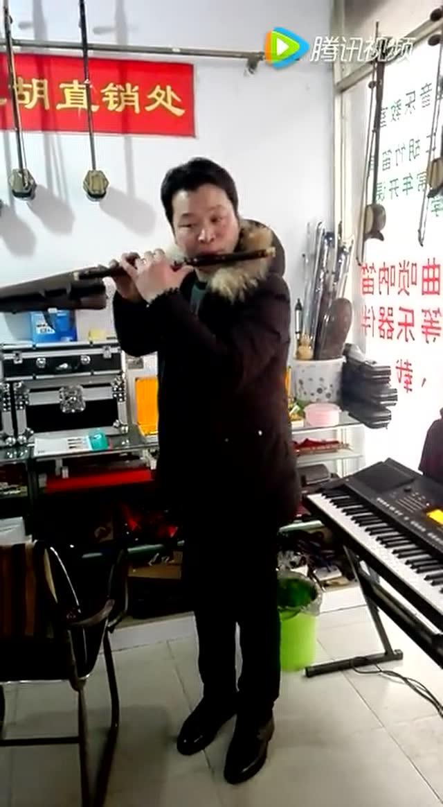 春到湘江 笛子独奏曲 片段练习