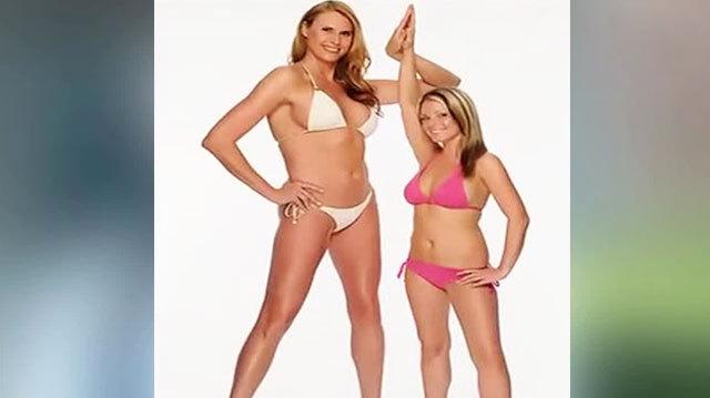 两米高美女巨人_世界上最高的女模特是她 身高两米多的女巨人