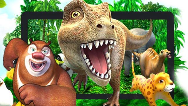 魔法动物园:奥特曼奥特之父恐龙世界大冒险图片