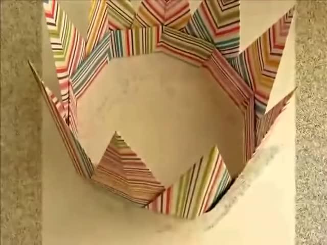 皇冠折纸的步骤 手工折皇冠