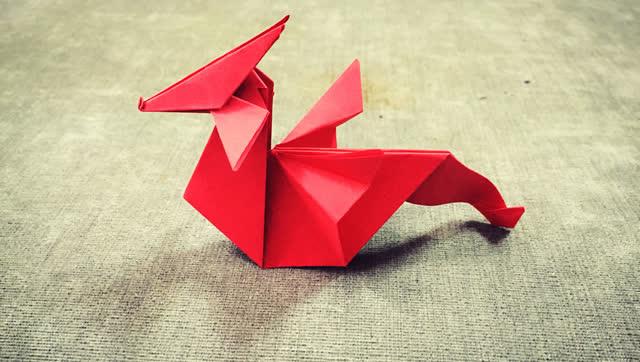 折纸火龙图解