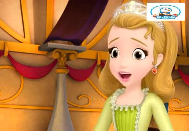 小公主苏菲亚:苏菲亚在帮助安柏摘蓝莓做派对松饼用