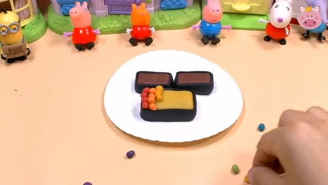 培乐多彩泥寿司 diy手工制作小羊苏西