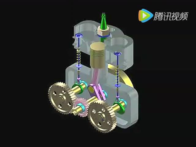 视频: 内燃机 (2) 教学用素材
