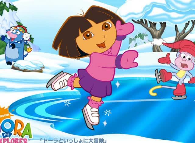 朵拉历险记片中文版 爱探险的朵拉 朵拉迭戈大冒险