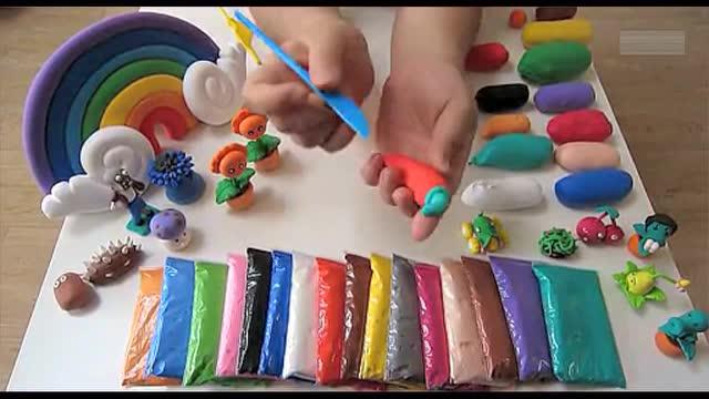 彩泥 粘土 橡皮泥手工diy制作小猪佩奇 奇趣蛋益智玩具