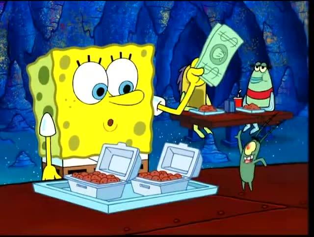 海绵宝宝:痞老板的海霸道餐厅,发财啦