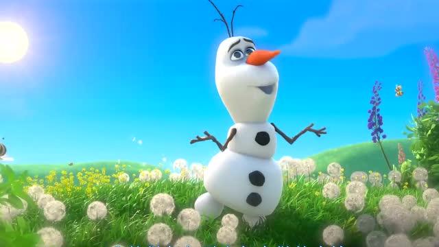 想过夏天的雪宝