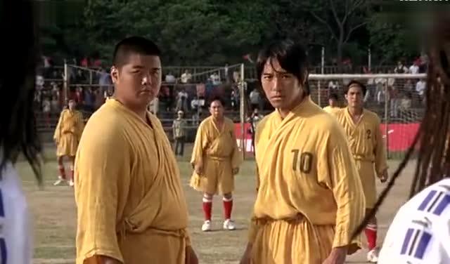 张柏芝 莫文蔚客串周星驰的《少林足球》, 那时的她们图片