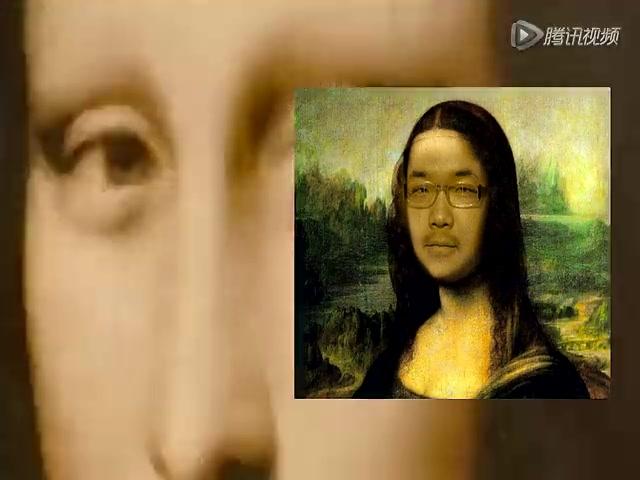 《半裸的蒙娜丽莎》展出