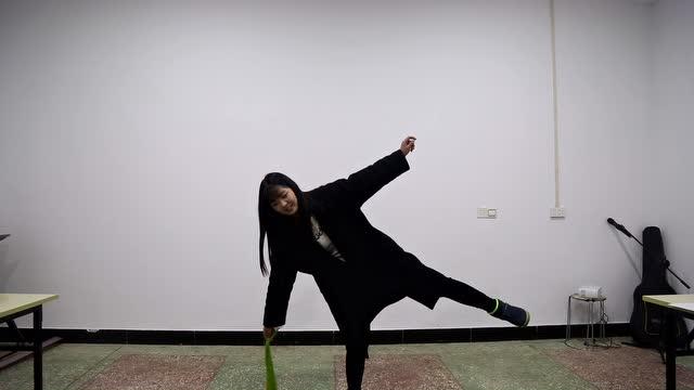 形体舞蹈梦千年之恋_白晓珂形体舞蹈