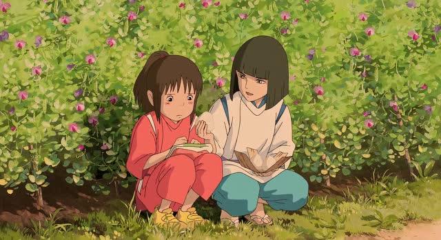 【宫崎骏动画电影里的美食】【千与千寻】施了魔法的饭团【bd720p.