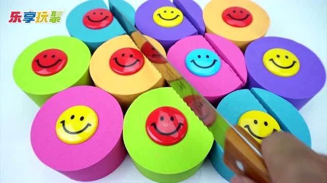 亲子益智动力沙玩具 手工制作笑脸彩泥柱