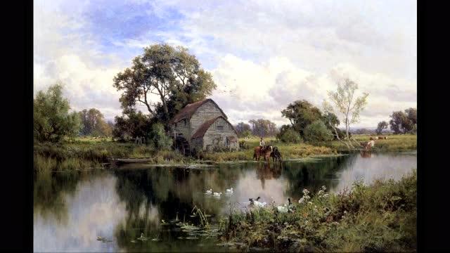 古典油画风景画家 亨利h ·帕克高清作品