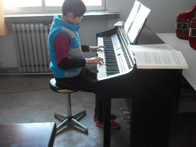 北风吹 钢琴曲演奏