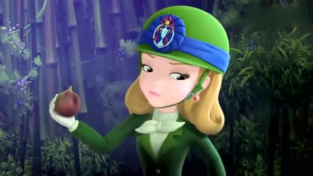 《小公主苏菲亚》安柏与坏魔法师的空中对决