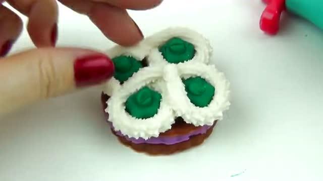 培乐多 橡皮泥 彩泥 蛋糕 小饼干 手工制作