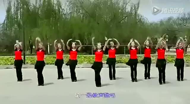 火火的姑娘 云裳馨悦广场舞图片