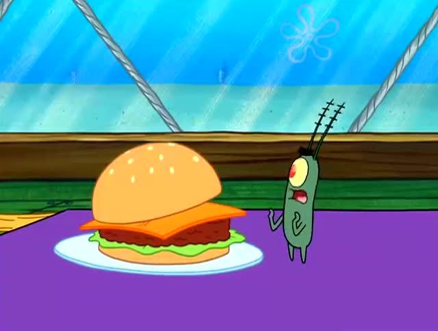 痞老板被逼吞了美味蟹堡,变成了一颗球,请你圆润的离开