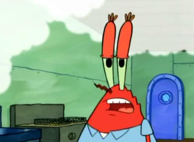 蟹老板把蟹黄堡的废油 倒在了疲老板的门口 疲老板这次乐了