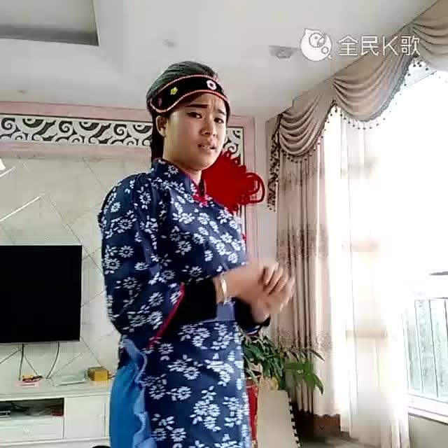 秀妹表演湖南花鼓戏《刘大娘笑呵呵》