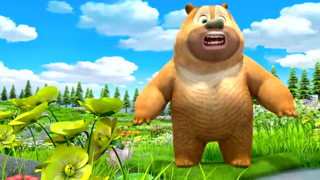 """熊熊乐园""""熊二的金鱼不见了"""""""