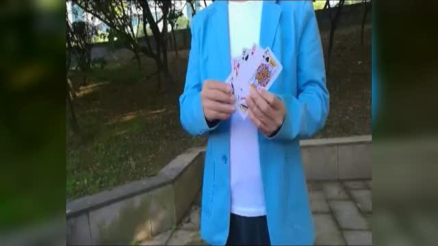 扑克滑袖魔术袖箭变牌衣,牌技手法滑袖牌技揭秘,无影魔术手