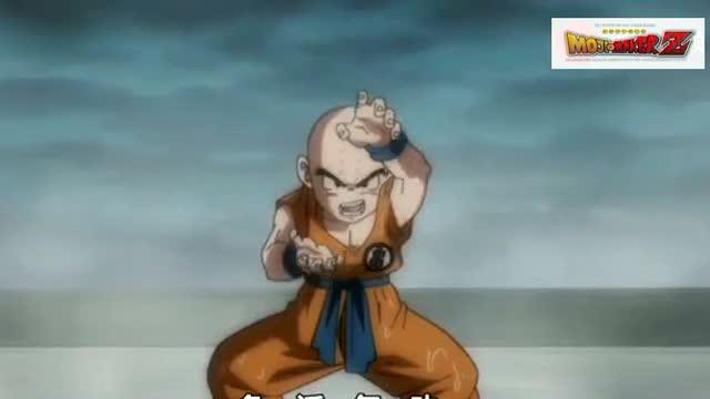 龙珠:悟空vs库林 连对战库林也要开超赛蓝?还打个平手图片