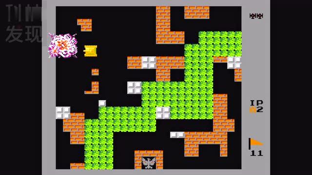 「科技发现」经典90坦克大战 小时玩的经典游戏 fc插卡游戏机 小霸王