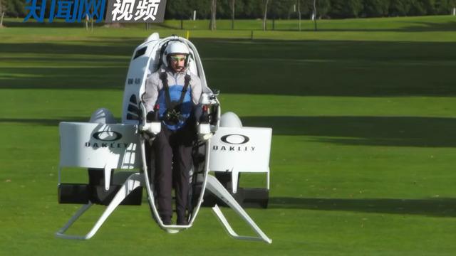 用风扇驱动的载人飞行器 千米高空时速达80公里图片