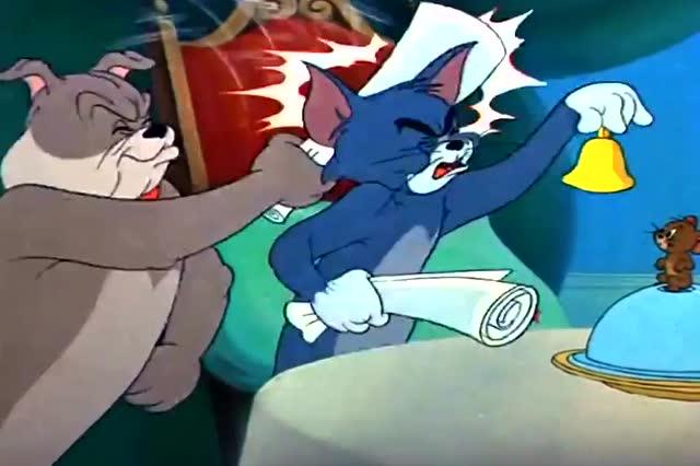 猫和老鼠:大狗和杰瑞之间就是互相帮助,汤姆好可怜