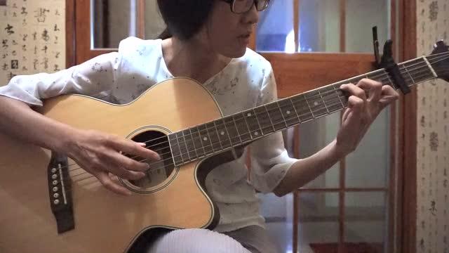 吉他赵雷少年锦时