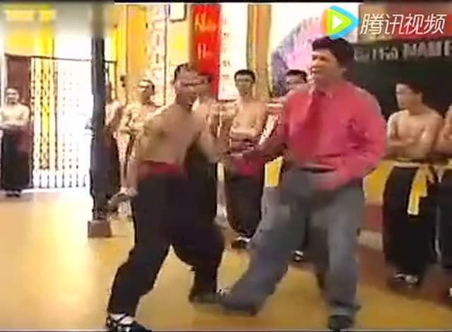 越南的永春白鹤拳 战斗力真猛