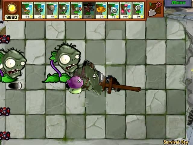 植物僵尸僵尸僵尸头大嘴花吃巨人头大战蘑菇瑞虎5操作说明图片