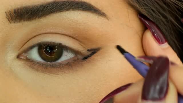 初学者怎样画眼线 简单眼线的画法教程