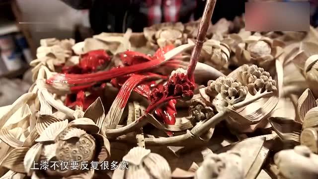 看潮州木雕的制作过程简直是美的享受,这种技艺是民族