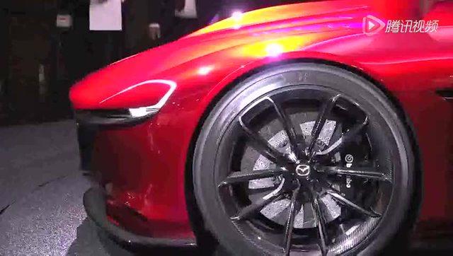2017款马自达 rx8 概念车