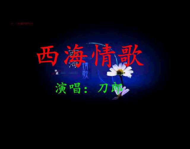 刀郎- 西海情歌
