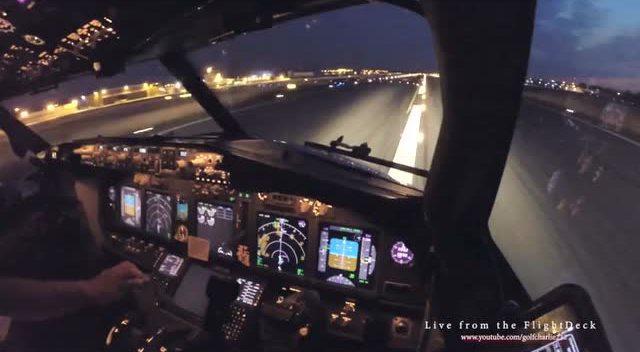 身临其境的感受,飞机驾驶舱内第一视角体验