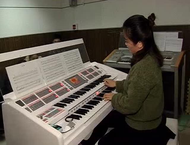 电子管风琴演奏图片