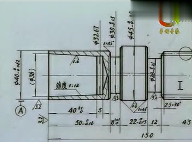 普车圆柱体平面图