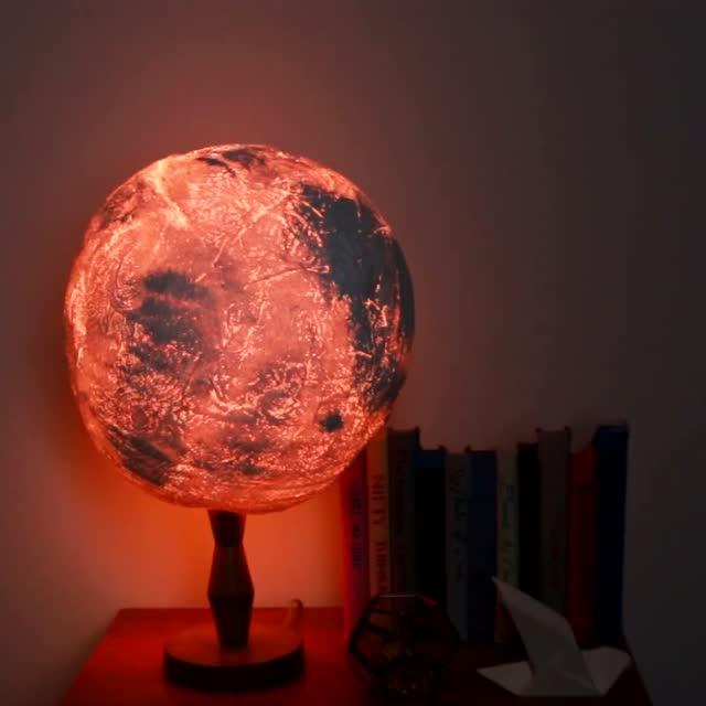 创意diy——用纸尿片手工制作像月亮的漂亮灯罩