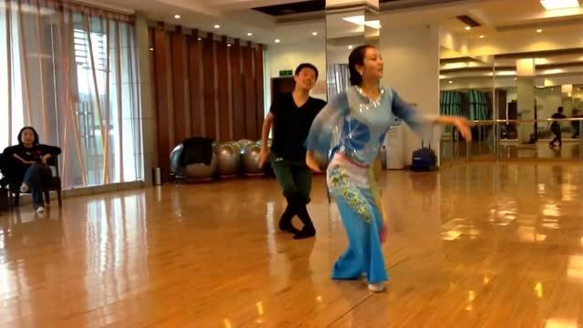 《月光下的凤尾竹 》中国古典舞 民族舞 傣族舞 基础教学 简单易学