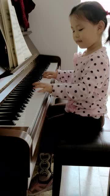 钢琴曲--扎红头绳